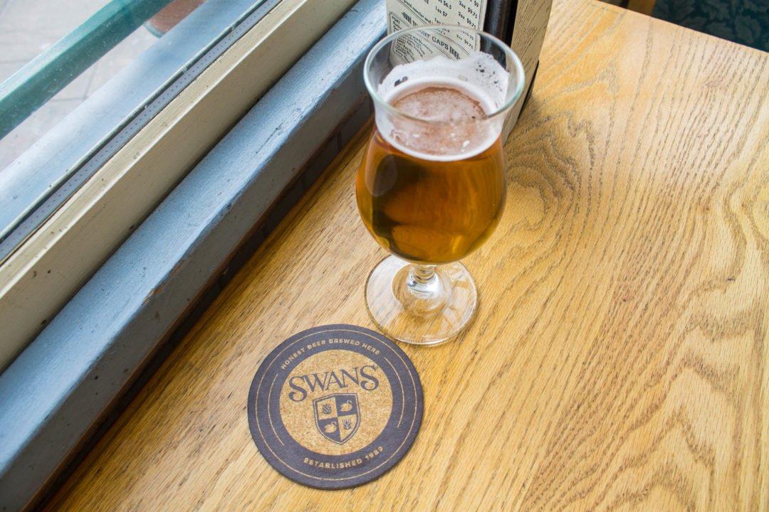 Craft beer in Victoria - Swans