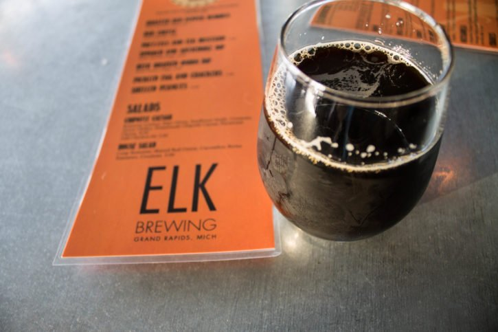 Elk Brewing in Grand Rapids, Michigan