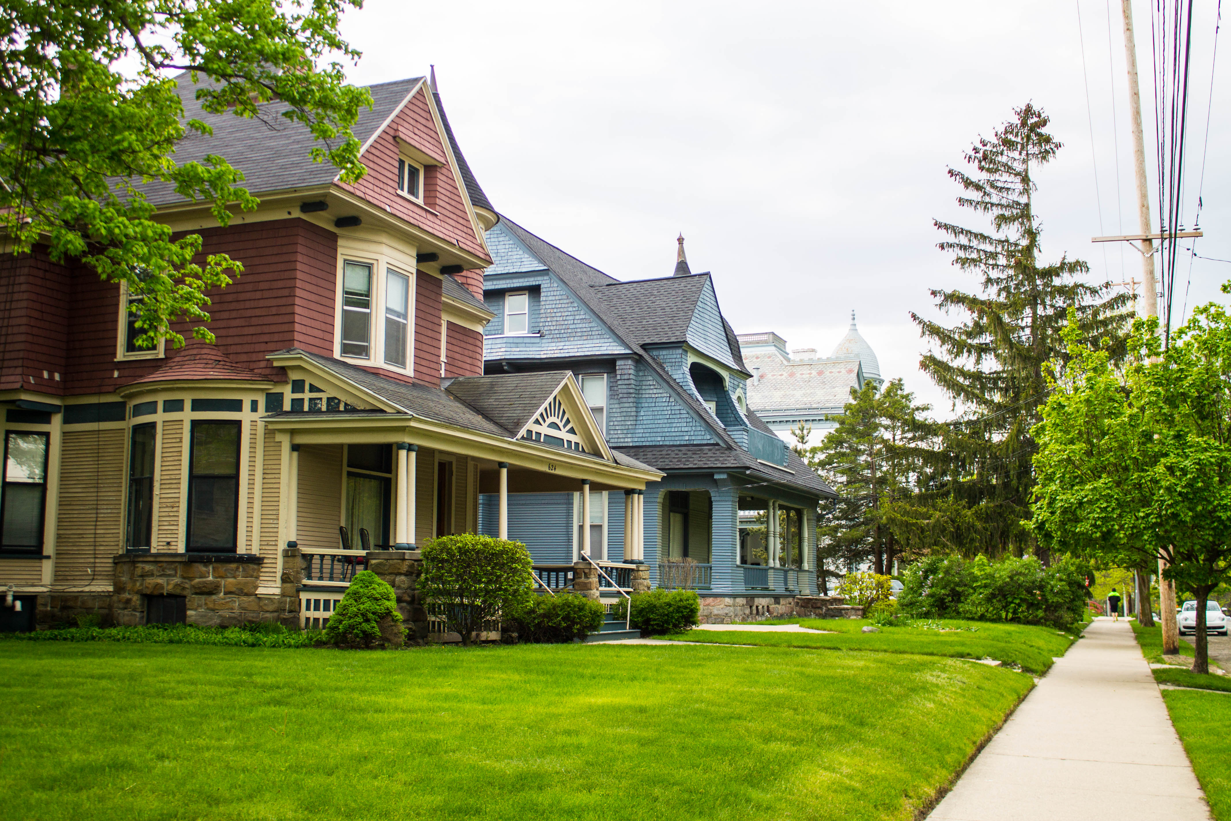 Cherry Hill Historic District in Grand Rapids, Michigan