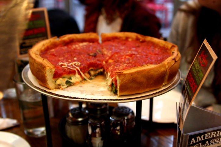 Giordano's Pizza in Chicago, Illinois