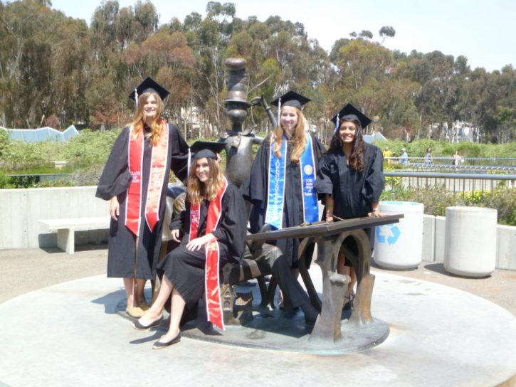 College Graduation from UC San Diego