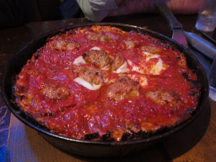 Pequod's Pizza in Chicago, Illinois