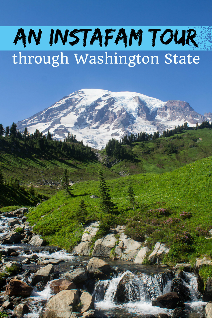 An InstaFAM tour through Washington State
