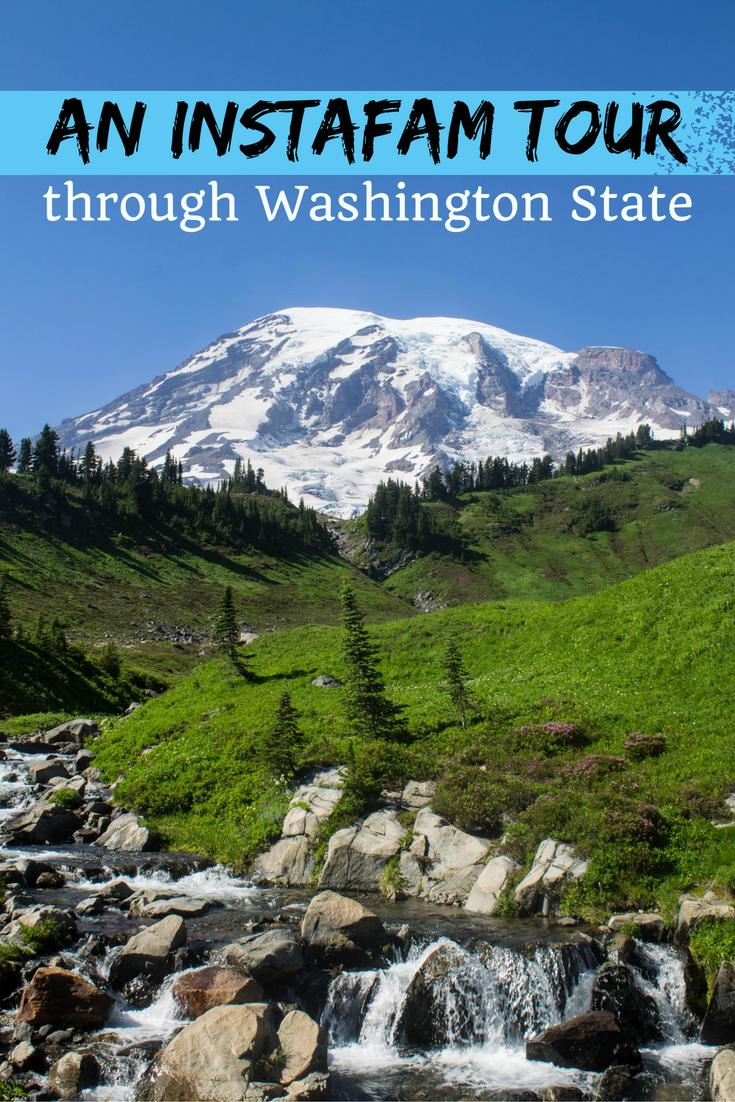 An InstaFAM tour through Washington State