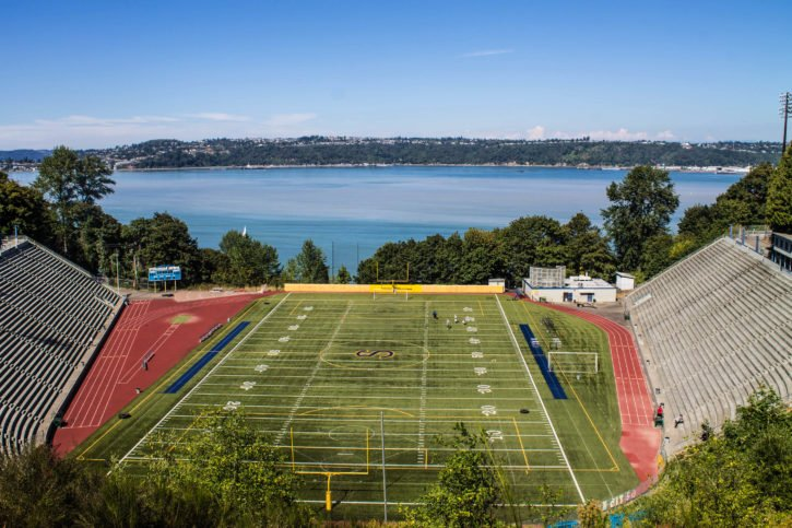 Where 10 Things I Hate About You was filmed - Stadium High School - Tacoma, Washington - USA