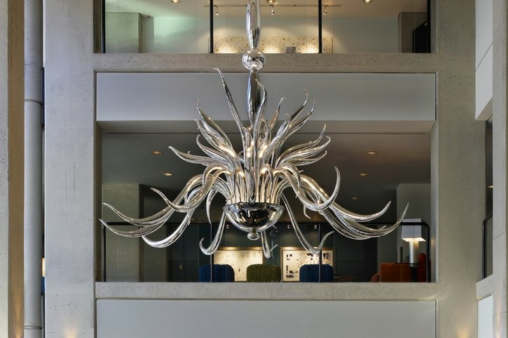 Glass Art at Hotel Murano - Tacoma, Washington