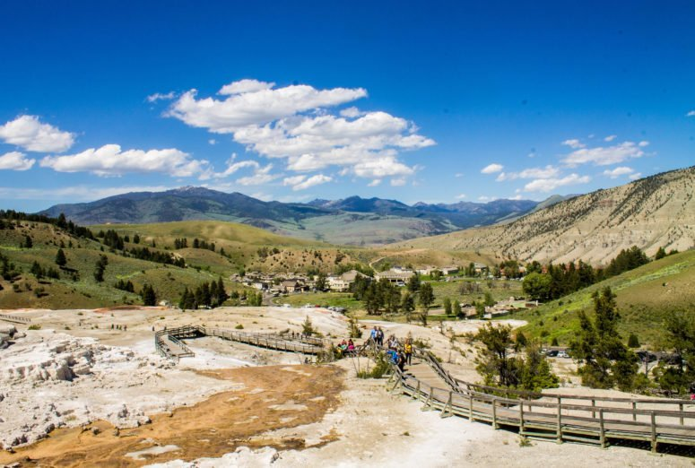 5 Must-See Stops in Yellowstone National Park - Mammoth Hot Springs
