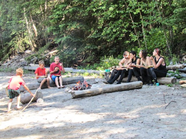 Whitewater Rafting in Golden BC with Wet N' Wild - Canada Adventure Travel