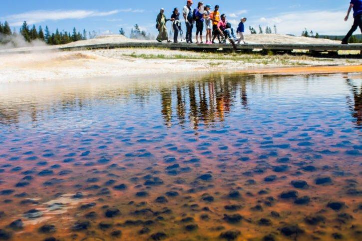 Upper Geyser Basin - Yellowstone National Park - USA Travel