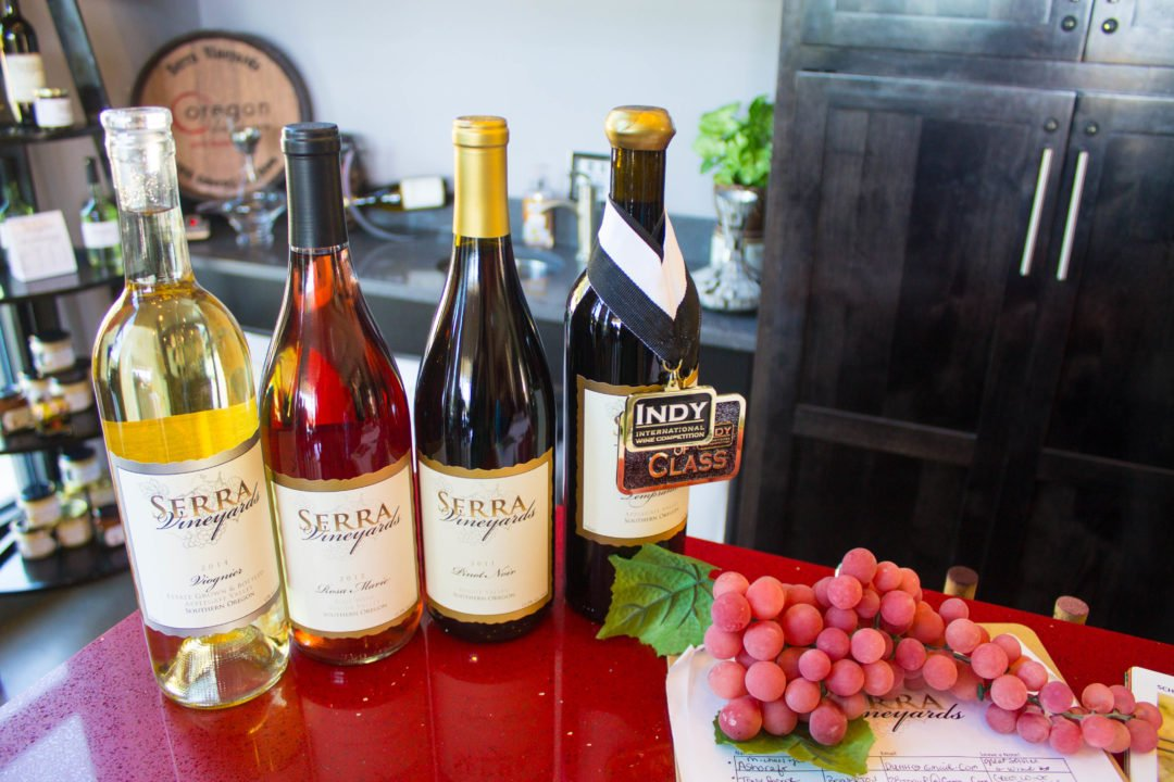 Things to do in Southern Oregon - Serra Vineyard