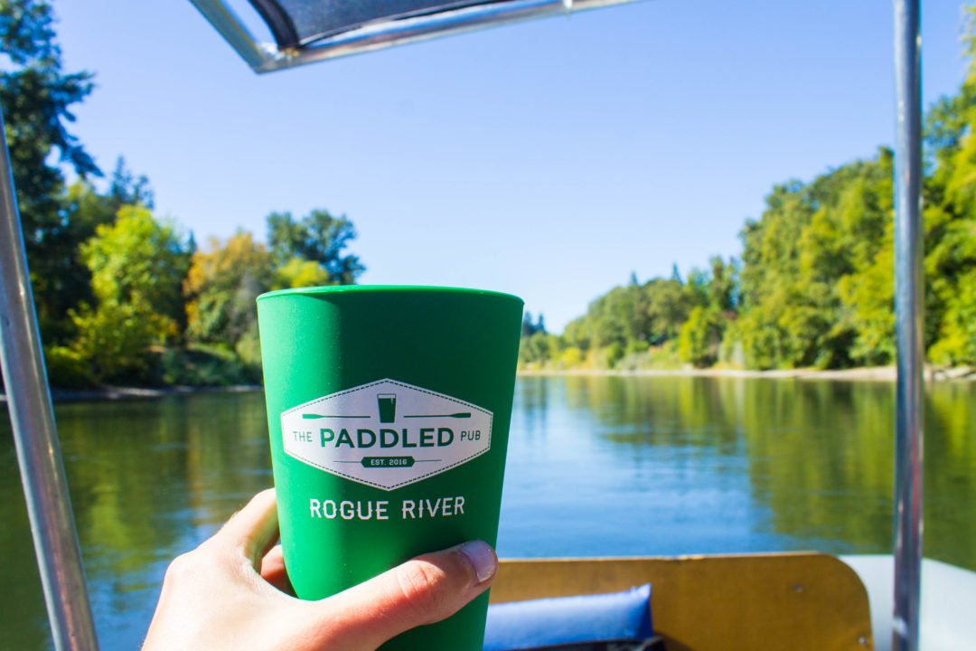 Things to do in Grants Pass, Oregon - Paddled Pub Tour along the Rogue River
