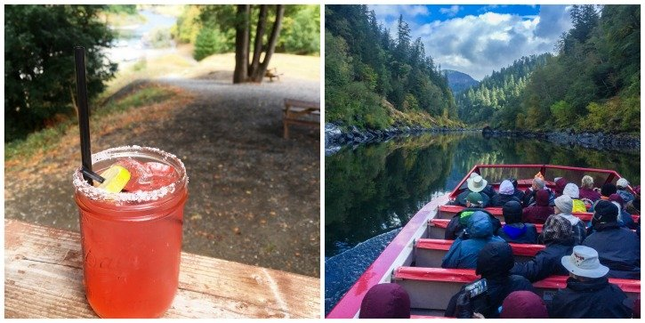 Jet Boating on the Rogue River in Gold Beach, Oregon