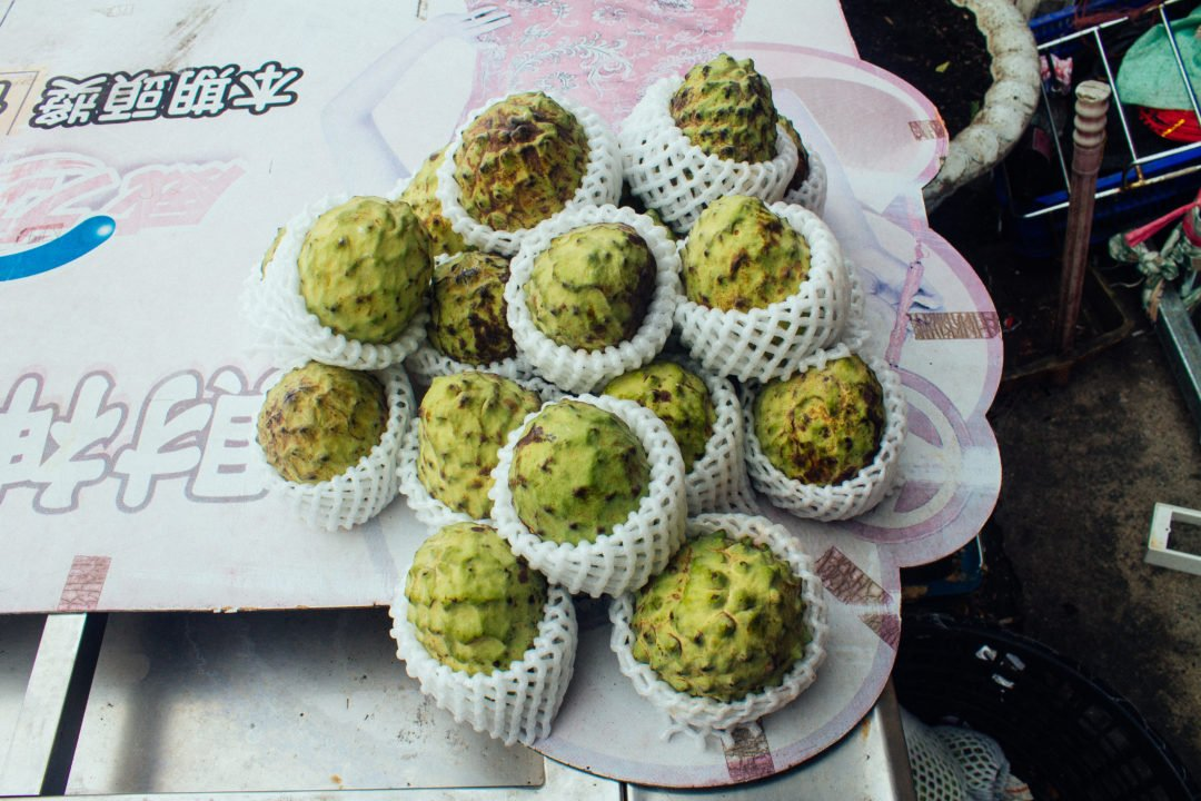 Fruit in Dulan, Taiwan | is Taiwan a good place to live