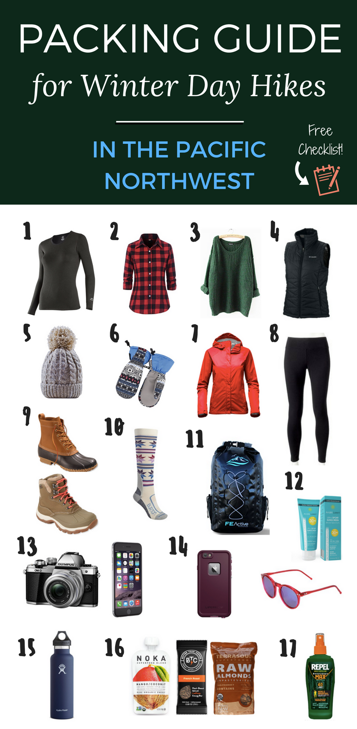 Packing Guide for Winter Day Hikes in the Pacific Northwest | USA Travel