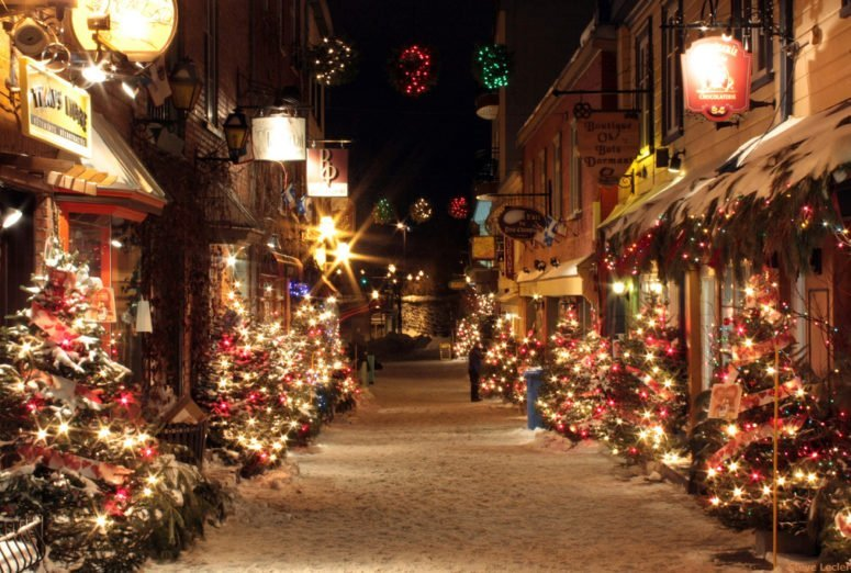 christmas in quebec city canada travel