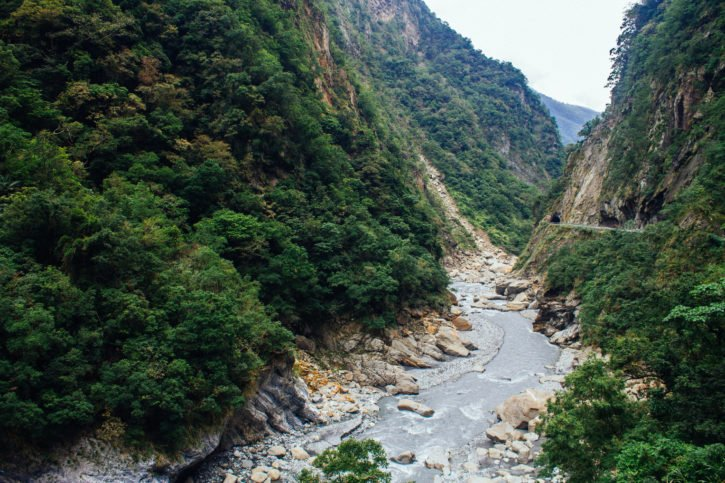 Renting a scooter to see Taroko National Pak - Taiwan - Trip Budgeting