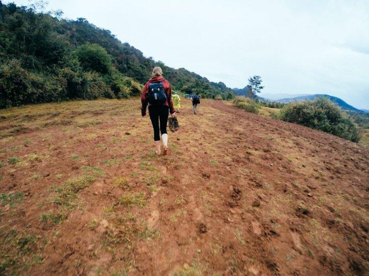 Trekking in Myanmar - The Atlas Heart