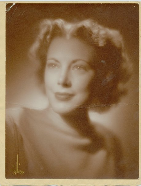 My glamorous Nana Joyce from the 1930s.