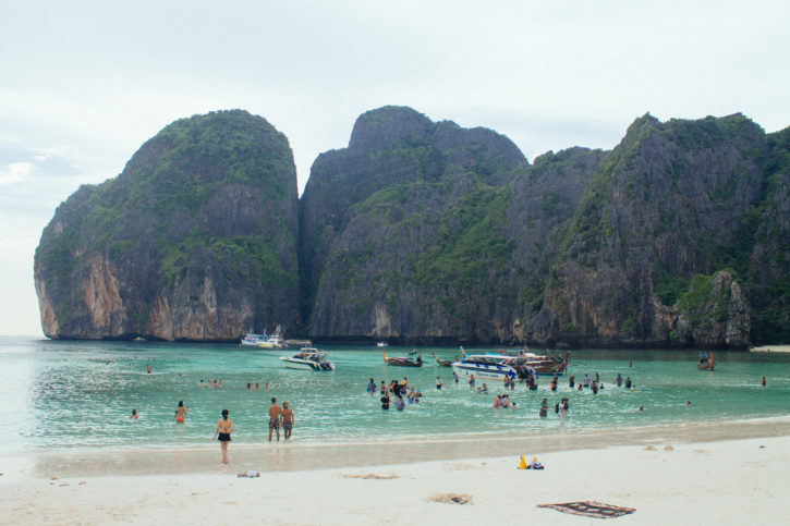 Maya Bay in Koh Phi Phi, Thailand - Asia Travel
