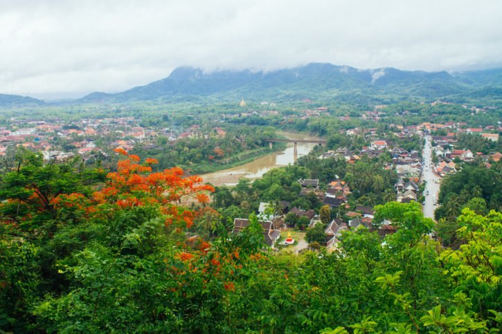 Mount Phousi, Luang Prabang, Laos - Asia Travel