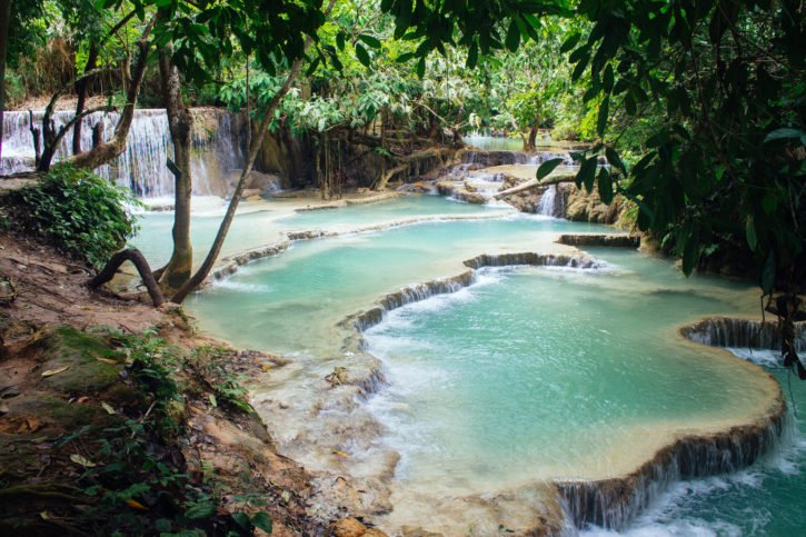May Wrap-Up - The Atlas Heart | Kuang Si Falls, Luang Prabang, Laos