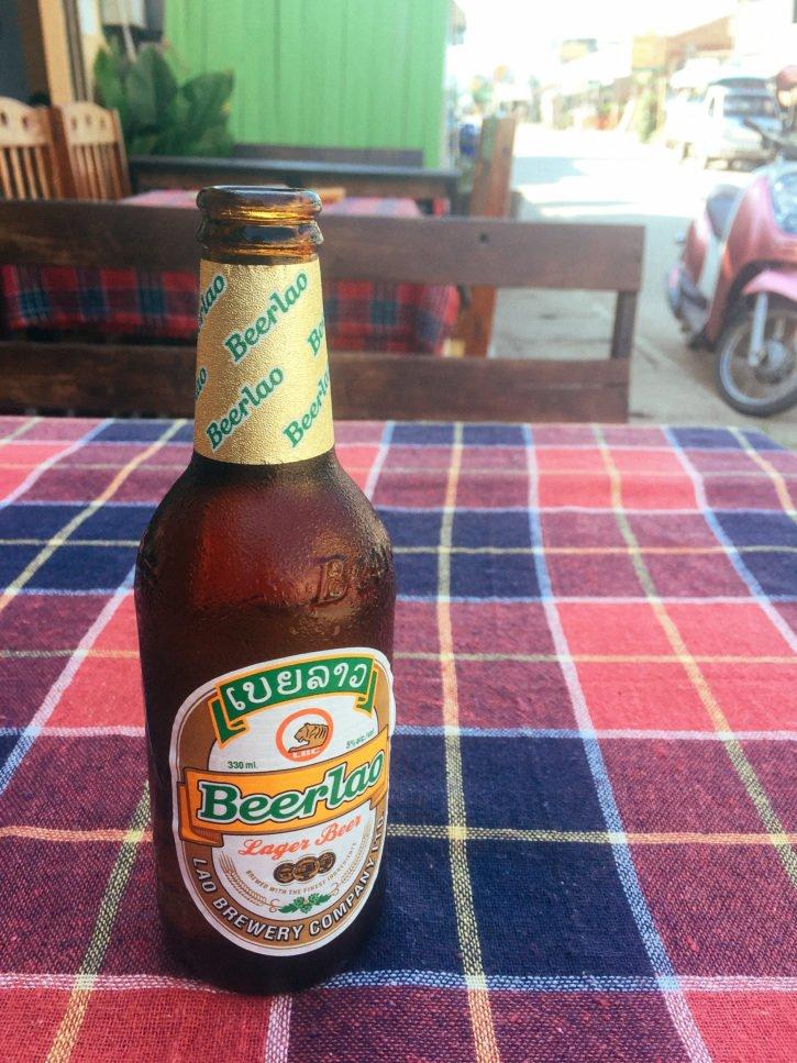 Beer Lao in Huay Xai, Laos - Asia Travel