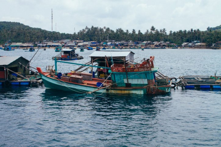 things to do on Phu Quoc Island - Fishing Boat