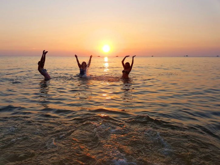 Vietnam beaches - Long Beach at Sunset - Phu Quoc, Vietnam - Asia Travel
