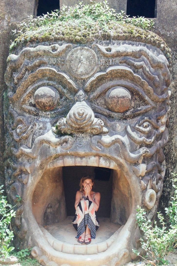 Buddha Park in Vientiane - Laos Travel