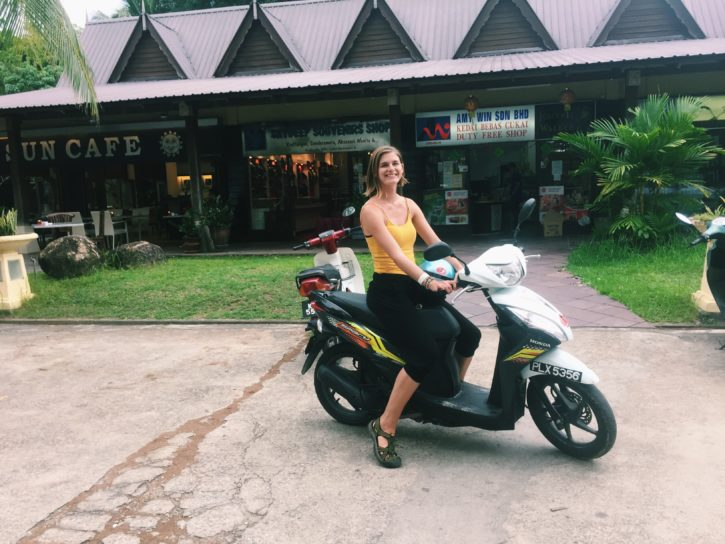 Scooter driving in Langkawi, Malaysia - Asia Travel