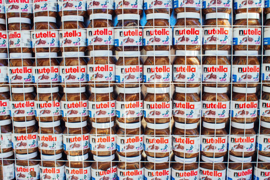 Nutella wall in Crete, Greece - Europe Travel