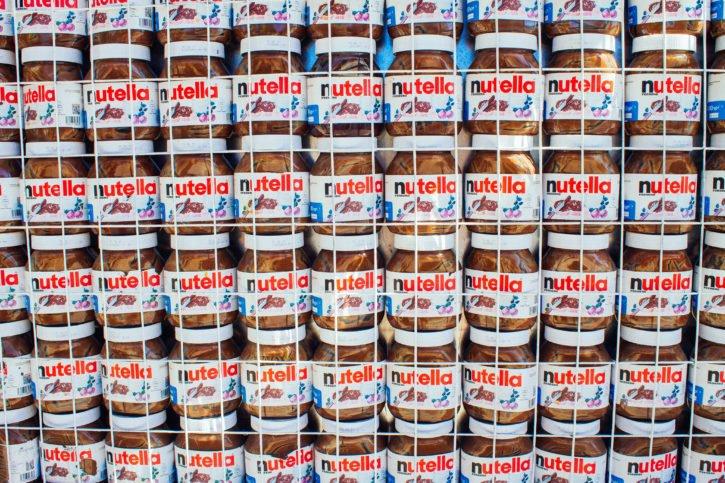 Nutella wall in Crete, Greece - Europe Travel