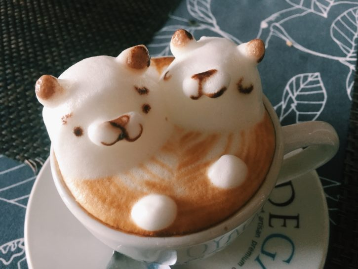 3D latte art in Penang, Malaysia - Asia Travel
