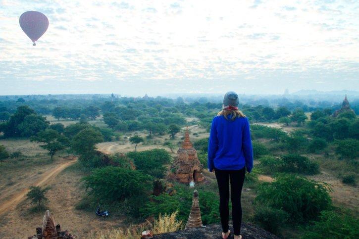 Sunrise in Bagan, Myanmar - Asia Travel