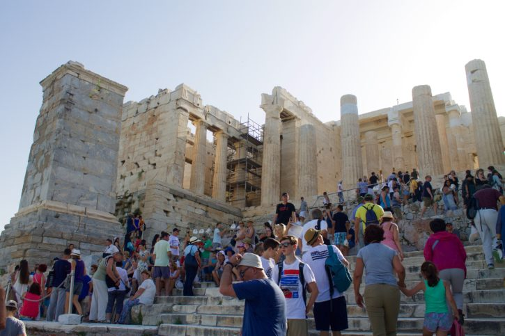 Acropolis in Athens, Greece - Europe Travel