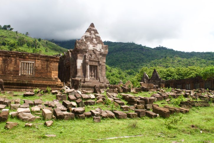 Wat Phu complex in Laos - Asia Travel