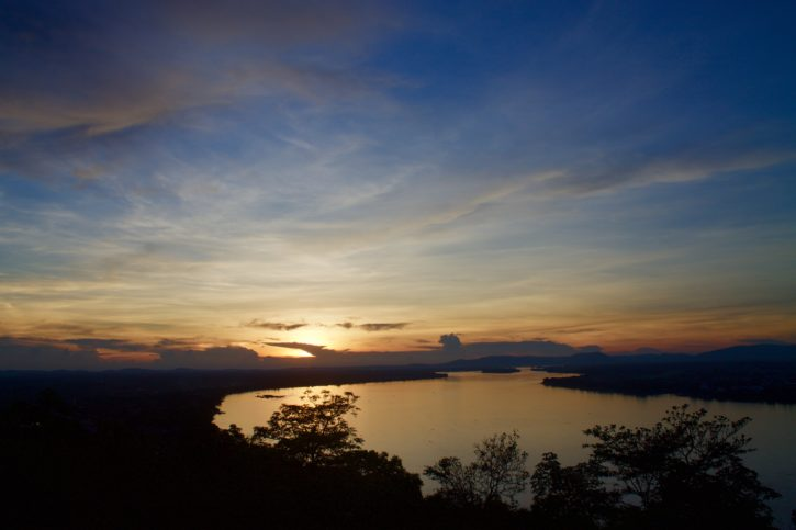 Sunset in Pakse, Laos - Asia Travel