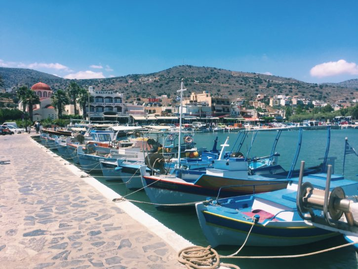 Boats in Agios Nikolaos, Crete - Europe Travel