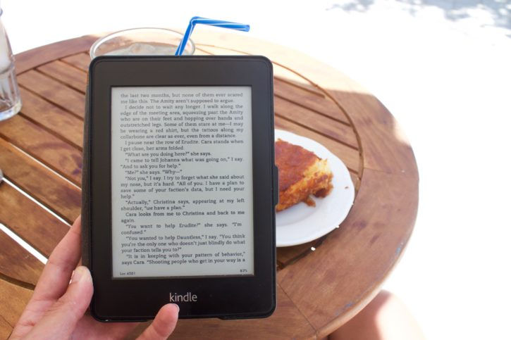 Reading in the little village of Lekes, Paros, Greece - Europe Travel