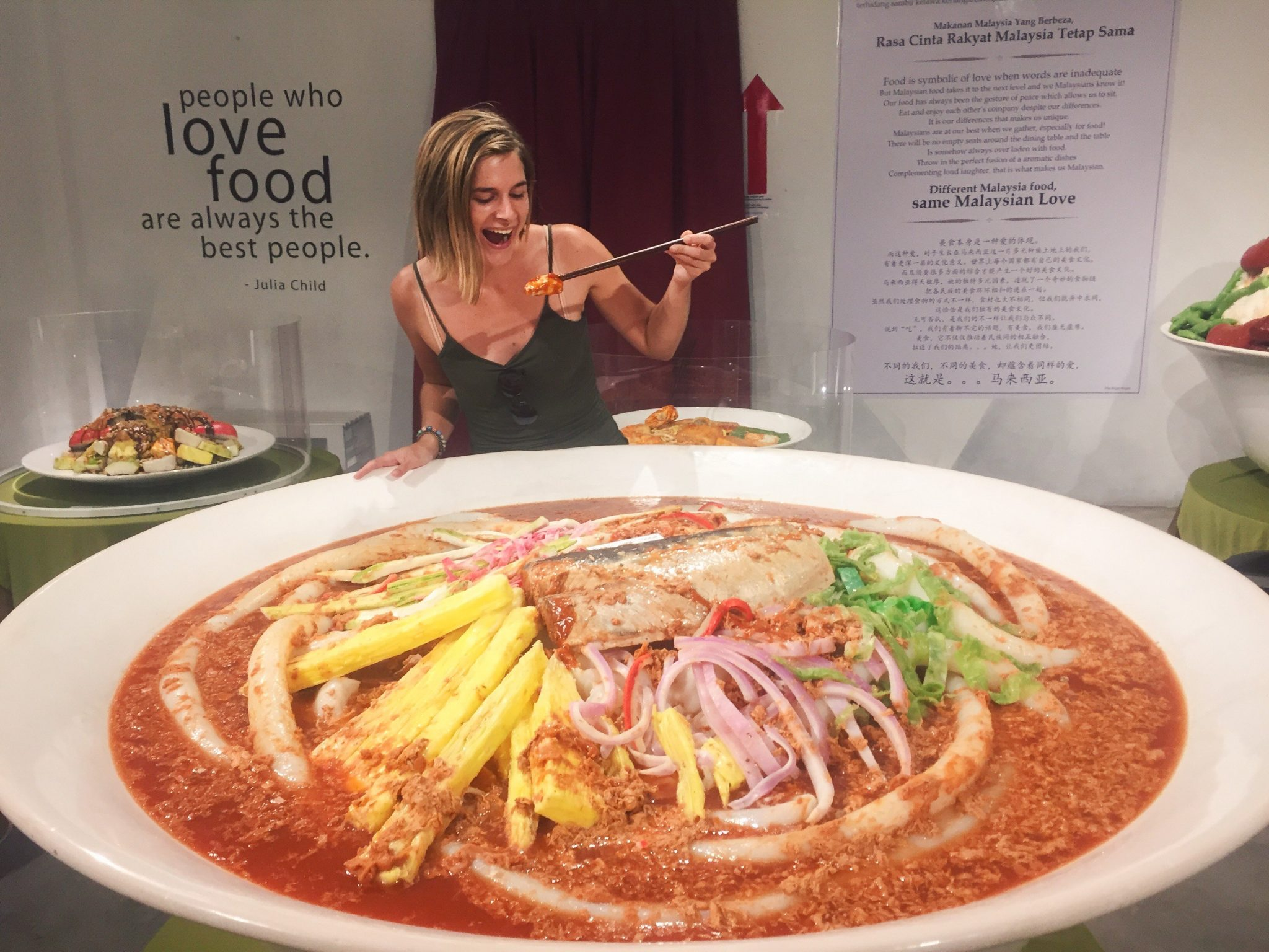 Laksa at the Wonderfood Museum in George Town, Penang, Malaysia | Asia Travel