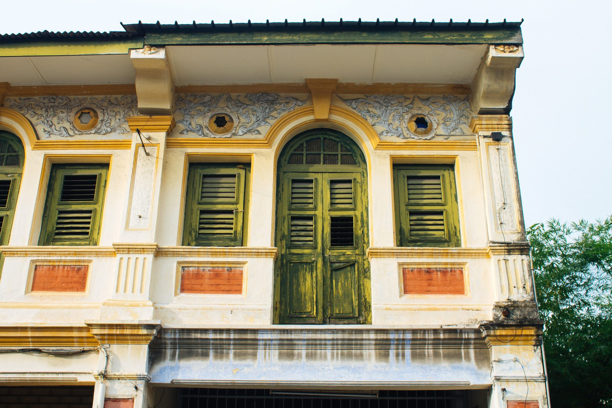 Colonial architecture in Georgetown, Penang, Malaysia | Asia Travel