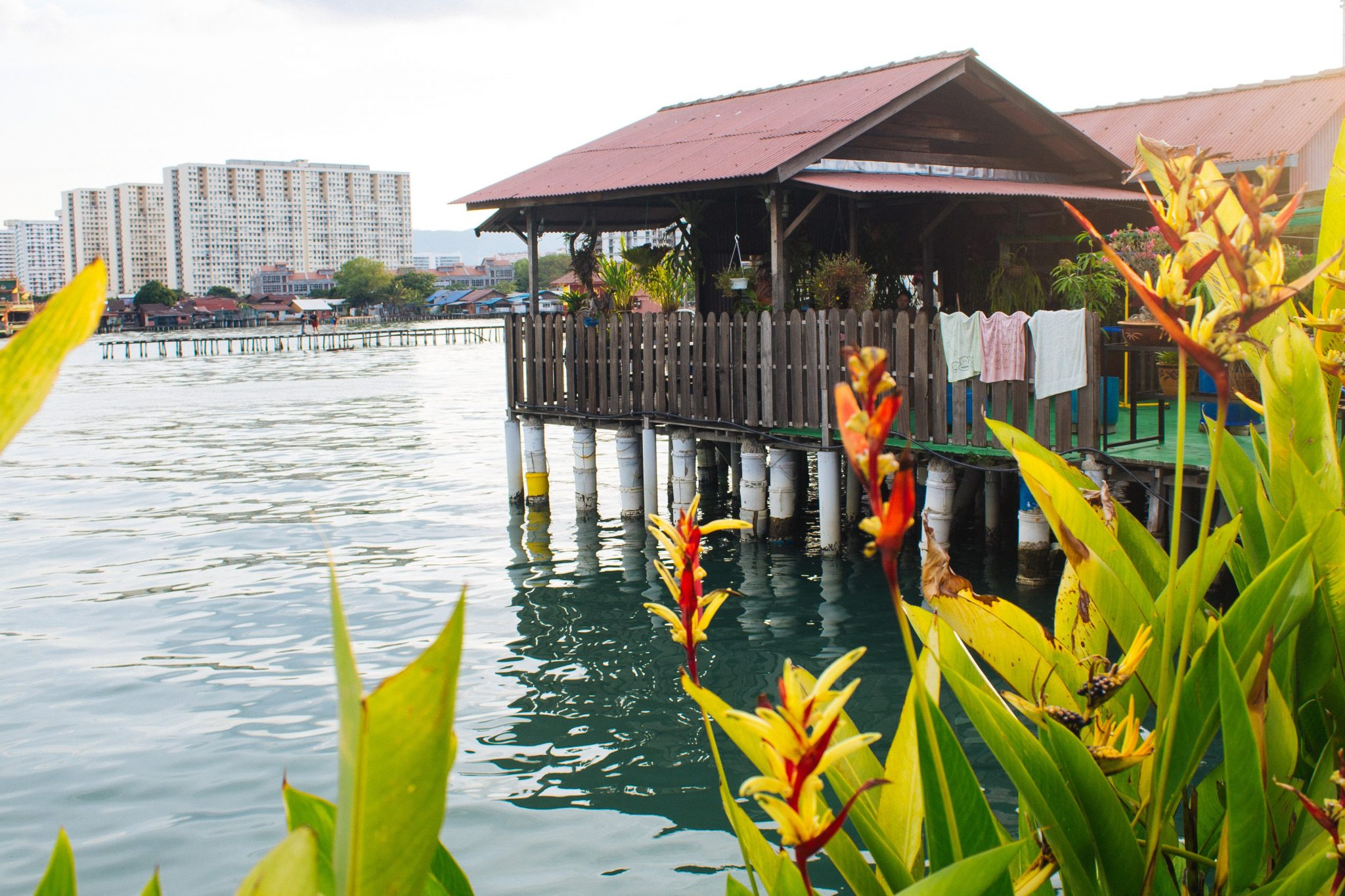 Clan Jetties in George Town, Penang Island, Malaysia | Asia Travel