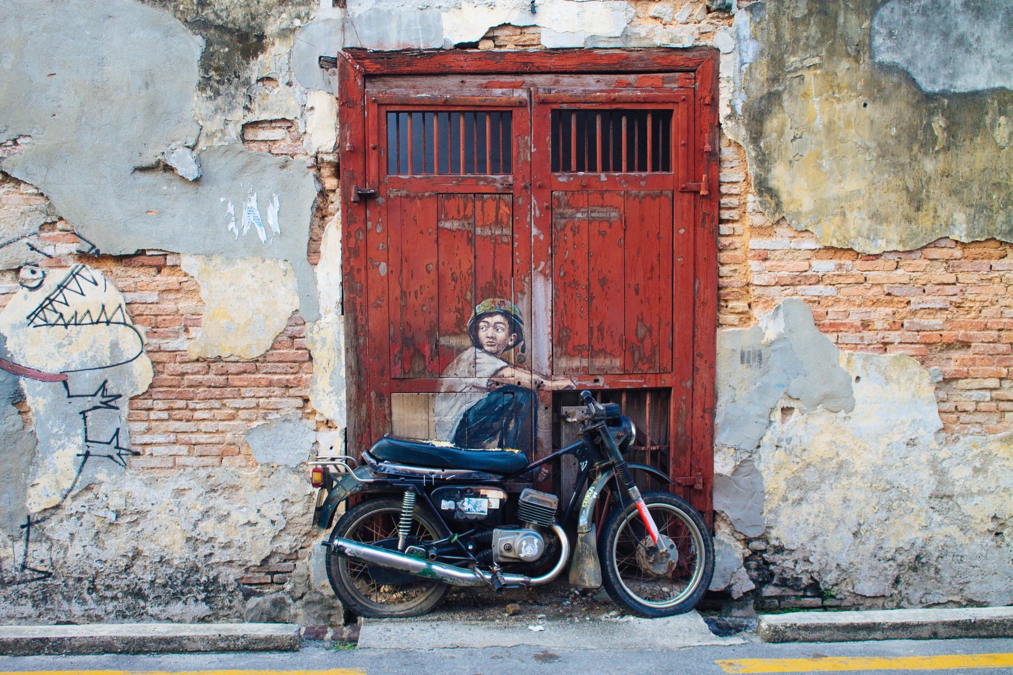 Street art in George Town, Penang, Malaysia | Asia Travel