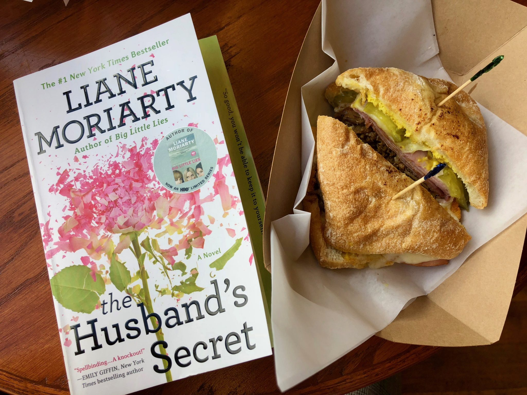 Wrap Up: February 2018 - Reads - The Husband's Secret by Liane Moriarty
