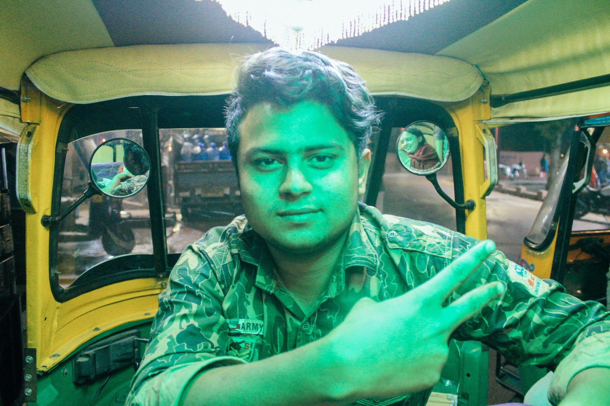 Raja, our Tuk Tuk driver in Agra | India Itinerary