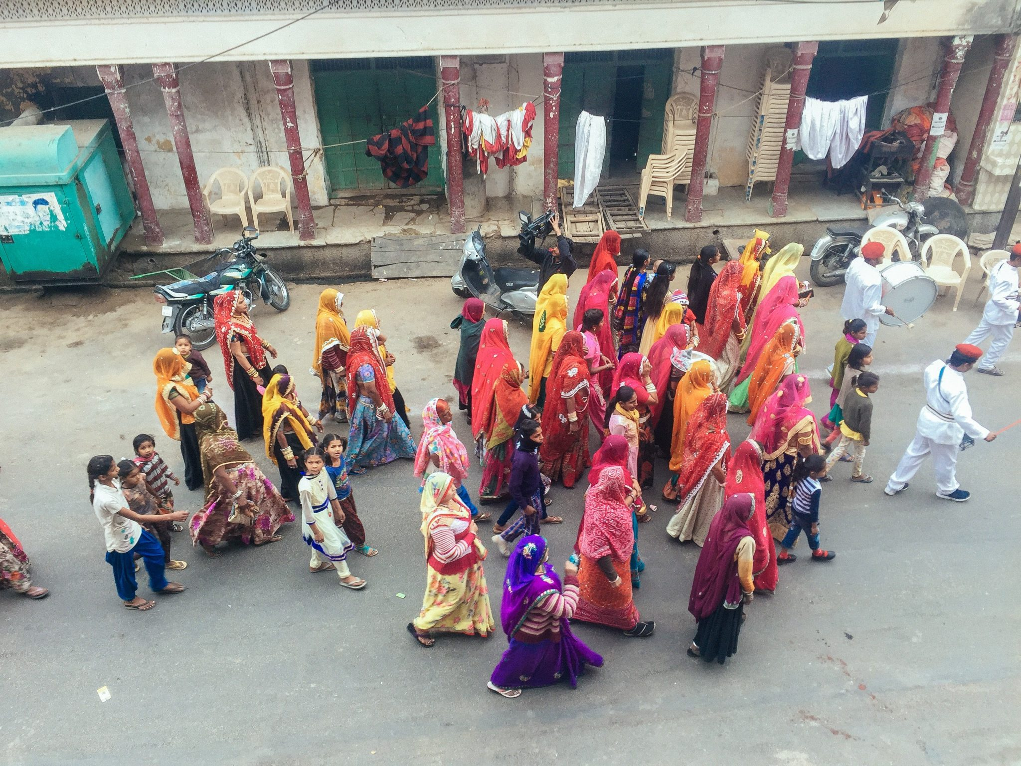 Indian Wedding Procession in Pushkar | Rajasthan | Tourist Places in India