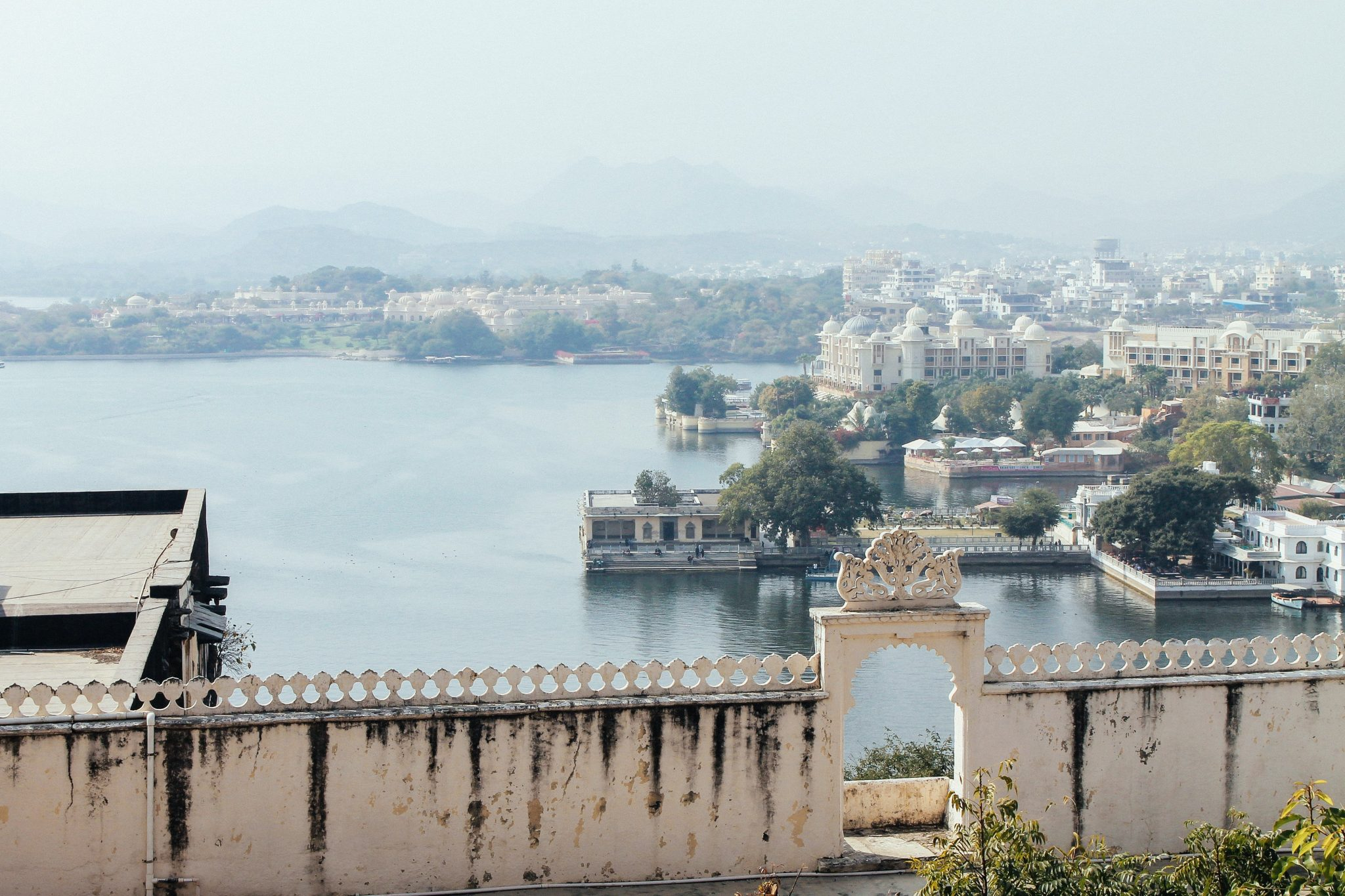 City Palace view of Lake Pichola, Rajasthan | Tourist Places in India
