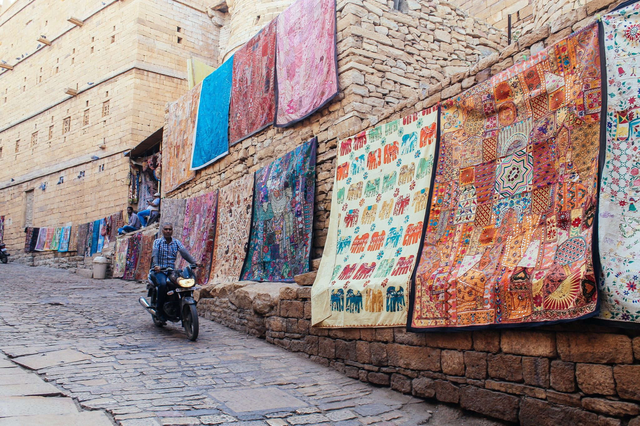 Tapestries in Jaisalmer Fort, Thar Desert | India in Two Weeks