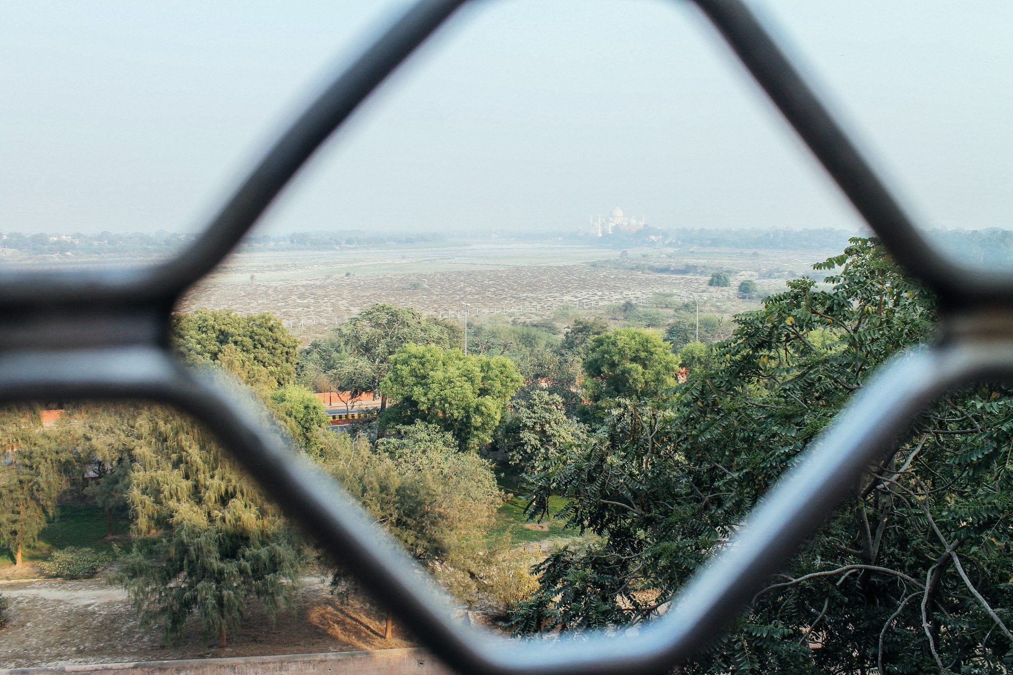 Taj Mahal from the Agra Fort | Two Weeks In India