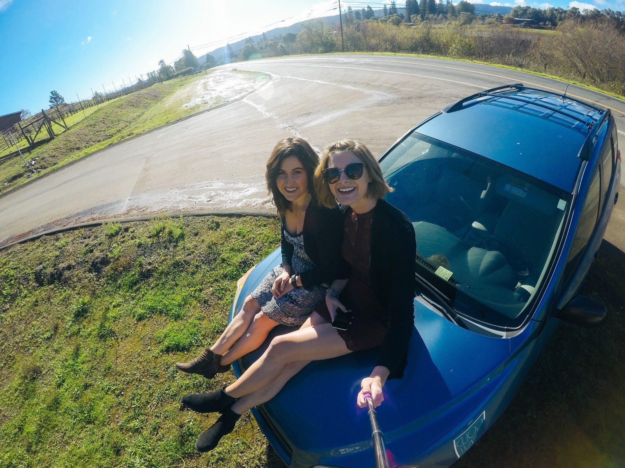 Girls Mendocino Weekend - How to Get Around
